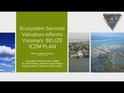 Using InVEST for Coastal Zone Management in Belize