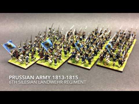 6th Silesian Landwehr Finished!!!