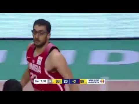 Firas Lahyani - Highlights Vs Guinea (24/11/2017) #FIBAWCQualifiers