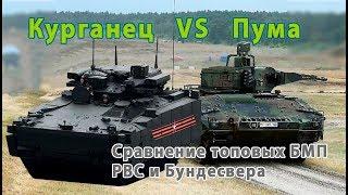 Аналитика и сравнение: БМП Курганец 25 против Пумы.