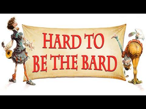 Hard to be the bard Karaoke instrumental
