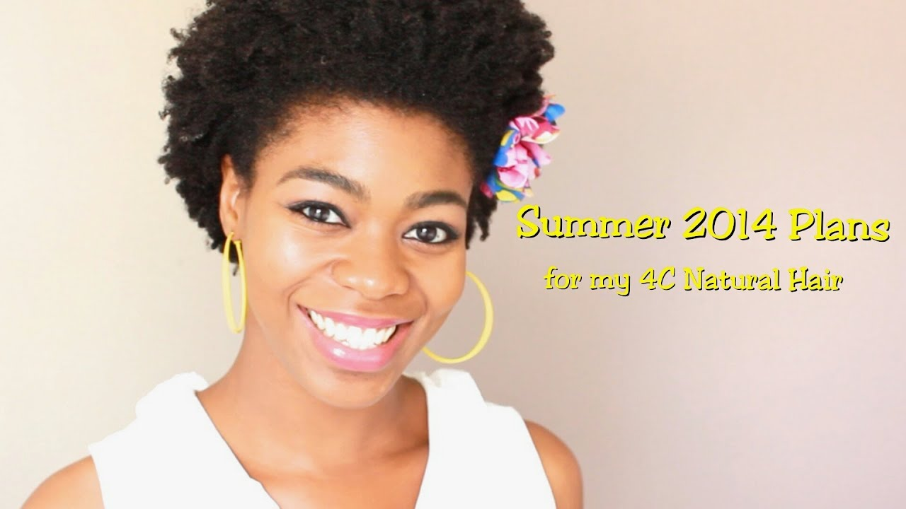 summer 2014 plans for my 4c natural hair - (styles,swimming