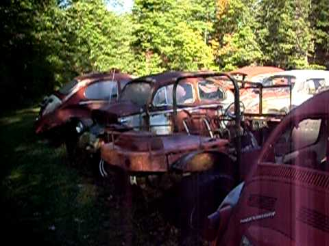 My trip to a Volkswagen only salvage yard