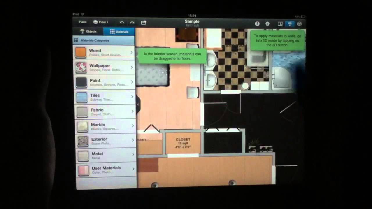 Interior design for ipad app review youtube for Interior design app online