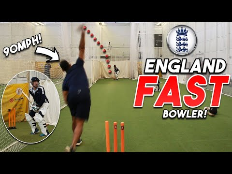 FACING A REAL ENGLAND FAST BOWLER at LORD'S   How Hard is International Cricket?