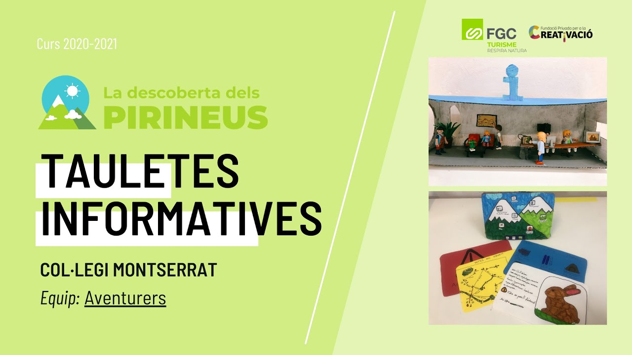 """Tauletes Informatives"" - Col·legi Montserrat"