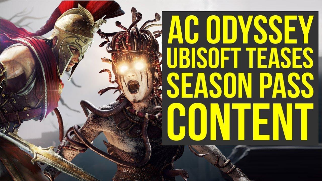 Assassin's Creed Odyssey DLC - Ubisoft Teases SEASON PASS CONTENT (AC  Odyssey DLC)