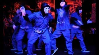 The Jabbawockeez at Harvest Festival  new video 2014 by VEVO@DANCE