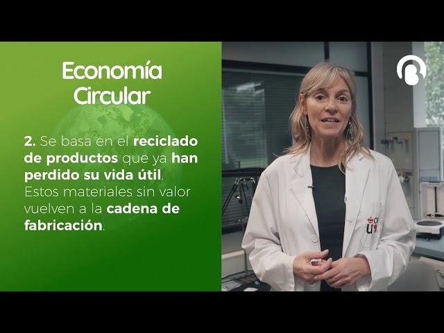 Economía Circular | Marta Muñoz | CienciaCreActiva | Bio3