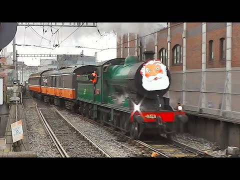 RPSI Santa Specials - Steam & Diesel - 29 November 2014