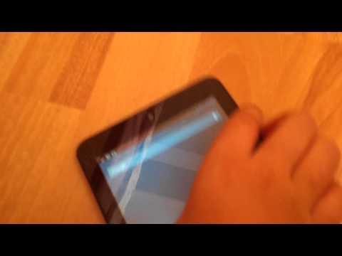 Tablette ekran fotografı çekme