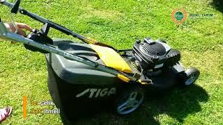Stiga Turbo 53 LB Dov Benzinli Çim Biçme Makinası