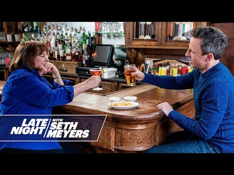 You Have to See What Happens When Seth Meyers and Ina Garten Go Day Drinking Together