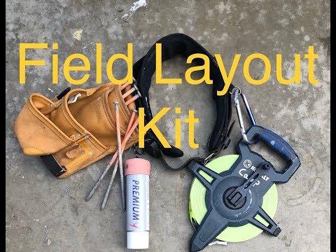 Field Layout Kit