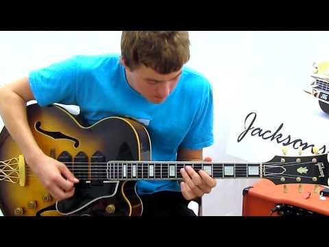 Smokin' Joe Robinson on a Gibson ES-5 Jazzing it up!