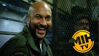 PREDATOR Thomas Jane & Keegan-Michael Key discuss the relationship between the characters they play