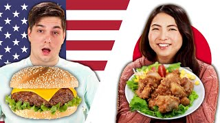 American_&_Japanese_People_Swap_School_Lunches