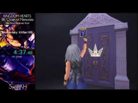 2017 Kingdom Hearts Marathon: KH Re:Chain of Memories Riku Beginner Any% in 1:45:31 by SwiiftKH
