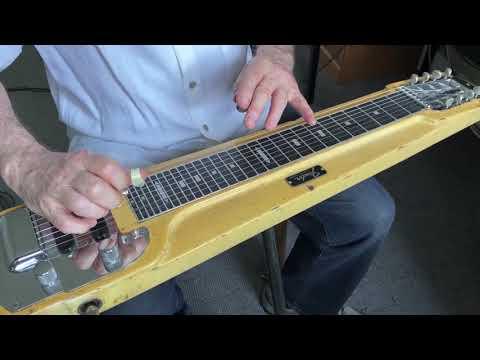 Can't Help Falling in Love - steel guitar