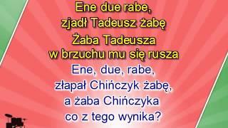 Karaoke dla dzieci - Ene due rabe - z linią melodyczną