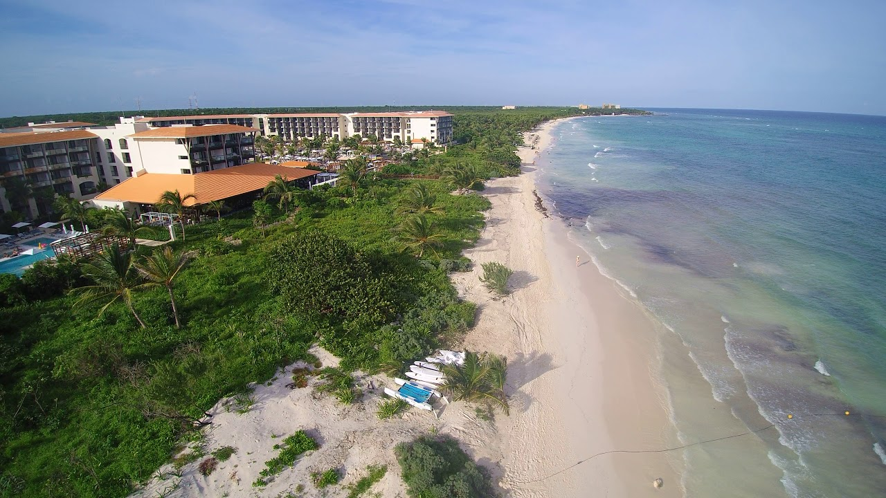 Beach At UNICO 20N 87W In Riviera Maya Mexico YouTube