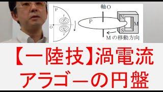 【一陸技】無線工学基礎 うず電流、アラゴ―の円盤