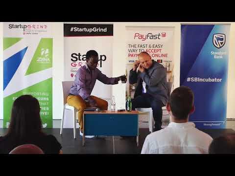 Startup Grind Cape Town hosts Llew Claasen (Bitcoin Foundation)