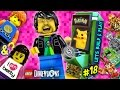 PIKACHU LEGO DIMENSIONS POKEMON Midway Arcade Fun! (Lets Build & Play LEGO Dimensions #18)