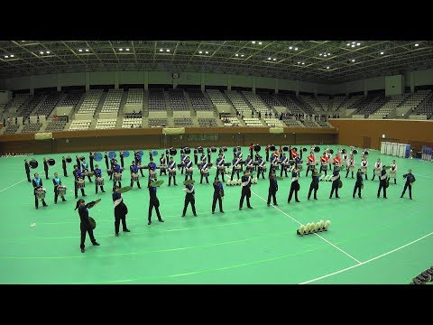 Winter Marching Party in KYOTO 2017 バッテリー合同演奏