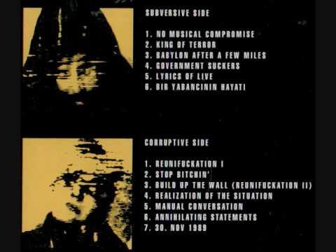 German HipHop Oldschool Vinyl: King Size Terror - The Word Is Subversion