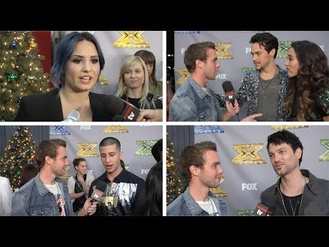 """The X Factor"" Season 3 FINALE Demi Lovato, Alex and Sierra, Paulina Rubio, Kelly Rowland"
