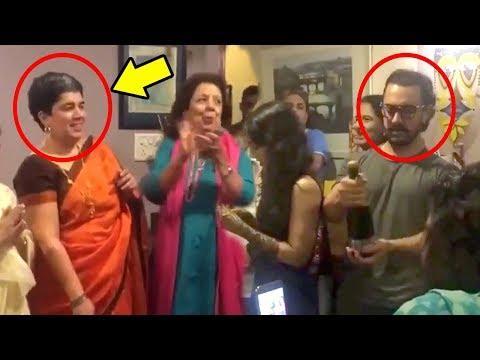 Aamir Khan CAUGHT With Ex Wife Reena Dutta's Birthday Celebration In Secret