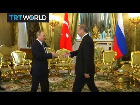 Money Talks: Turkey`s president Erdogan visits Moscow