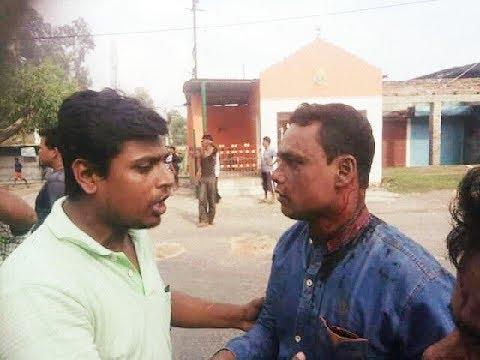Hindu Muslim fight at raiganj ,3.9.2017