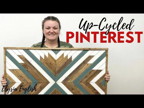 up-cycled-pinterest-episode-#1-|-wood-wall-art-quilt-|-pinterest-inspired-|-boho-decor-diy