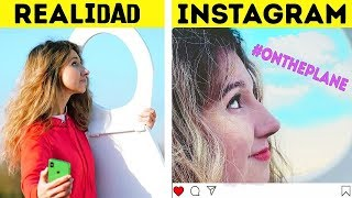 INSTAGRAM VS  LA VIDA REAL