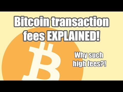 BITCOIN TRANSACTION FEES EXPLAINED | FULLY & SIMPLE