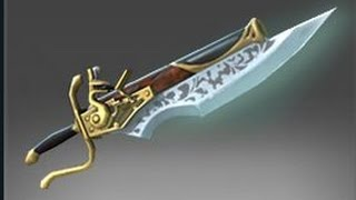 Inverse Bayonet, Kunkka's immortal item in Dota2
