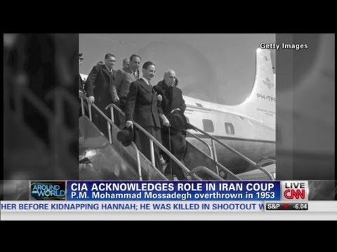 CIA involvement in 1953 Iranian coup