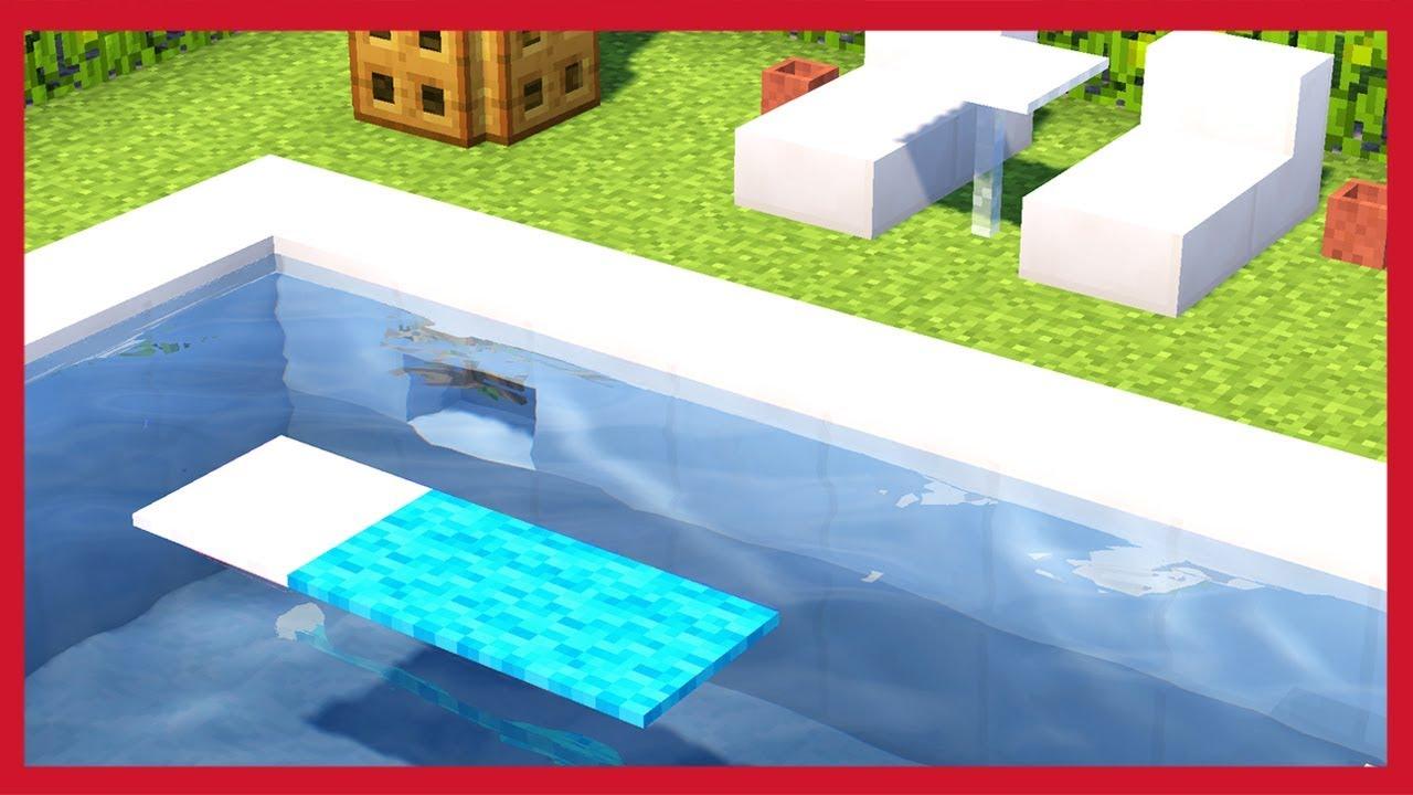 Minecraft: Come Fare Una Piscina - YouTube