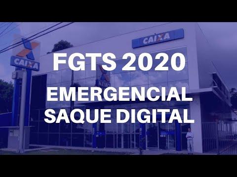 Fgts 2020 Emergencial Saque Digital Youtube