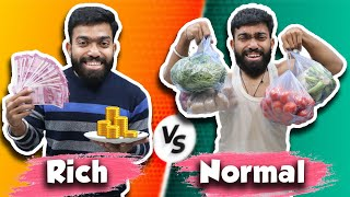 Rich vs Normal Cooking | Guddu Bhaiya