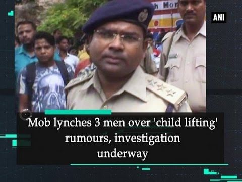 Mob lynches 3 men over