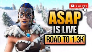 FORTNITE //CLAN TRYOUTS //GIVEAWAY //NEW ITEMSHOP //GAMEPLAY //ROAD TO 1.5k SUBS //#TSR