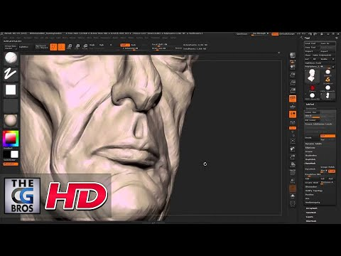 "CGI 3D Tutorial : ""Zbrush Character Sculpting:Dishonored Style Portrait"" - by Flipped Normals"