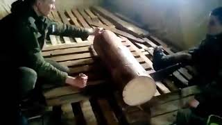 Бензопила Дружба, Армия прикол