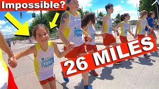 8 YEAR OLD Attempts FULL MARATHON [AMAZING]
