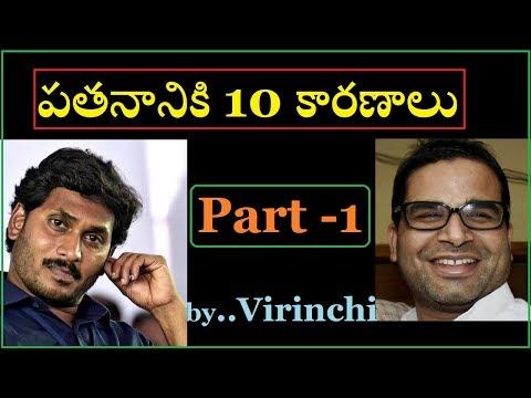 10 Reasons behind Jagan's downfall ( Prashanth Kishore ) - Part 1