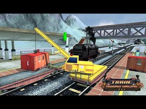 Грузовой Поезд Симулятор. Перевозка Грузов. Train Transport Simulator. Игры на Андроид 2016 HD