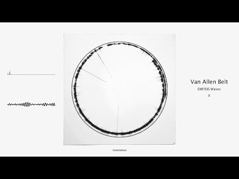 Sound of Earth - Van Allen Belt 2 - Audiovisual (Generative Design Made with Code)